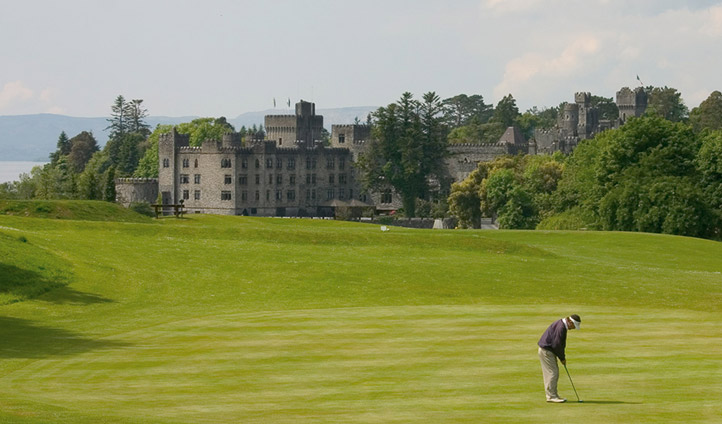 Test out Ashford Castle's course and finish like a pro
