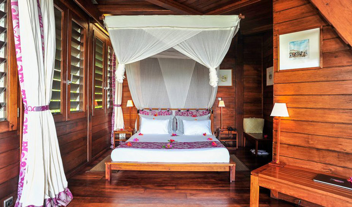 Settle into your room at Anjajavy