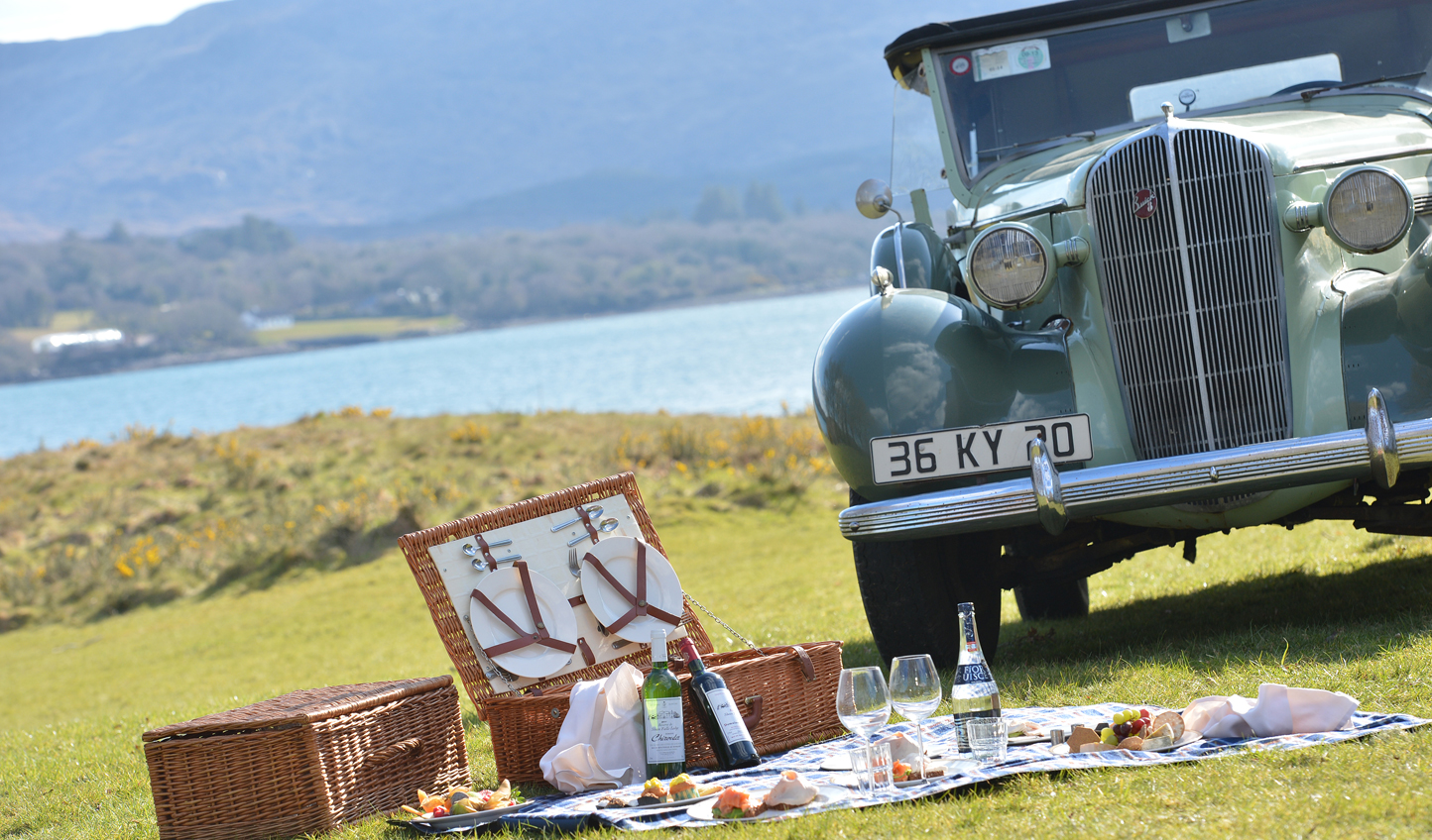 Pack a picnic and jump in Sheen Falls' Buick for a quaint afternoon in the countryside