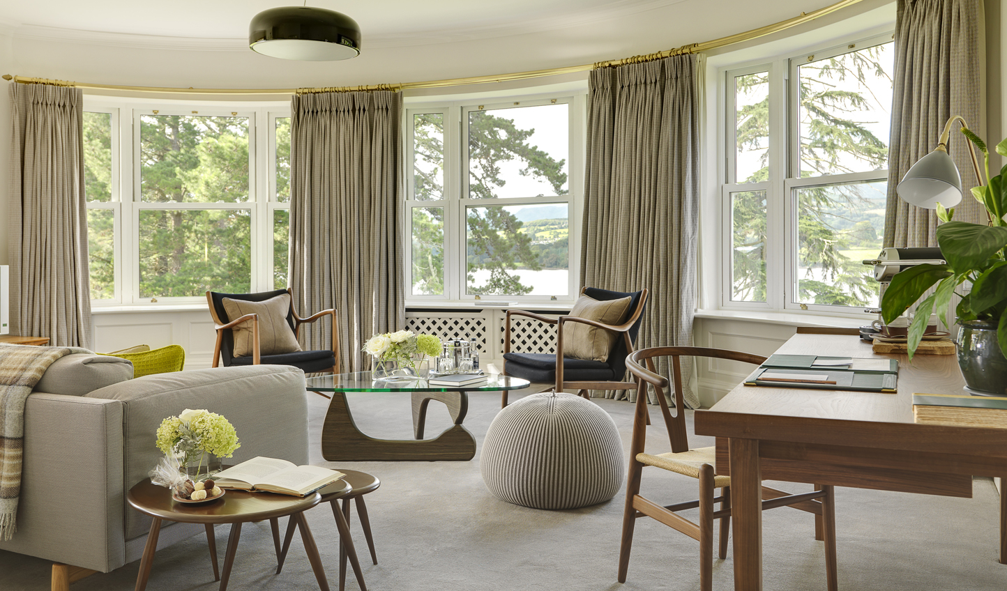 Kick back and relax while gazing out at breathtaking views