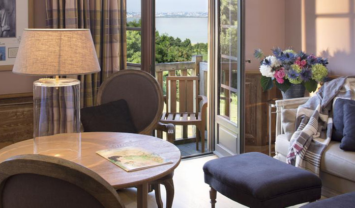 Sit out on your private balcony and admire the sea views