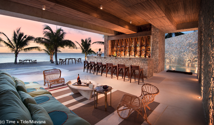 The prefect spot to enjoy a cocktail before dinner