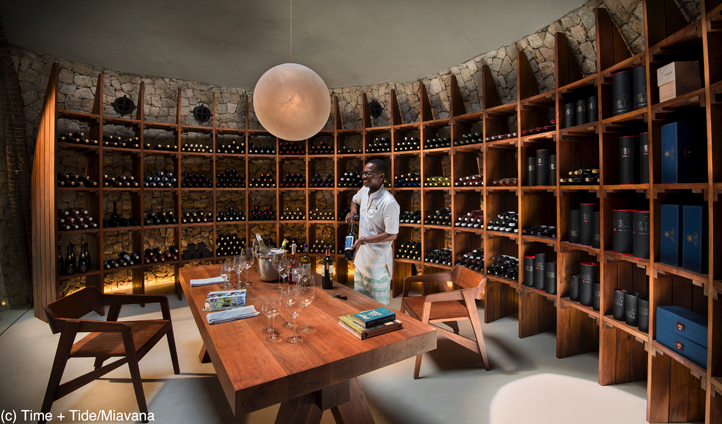 Enjoy world class wines at the Italian inspired grotto and cellar