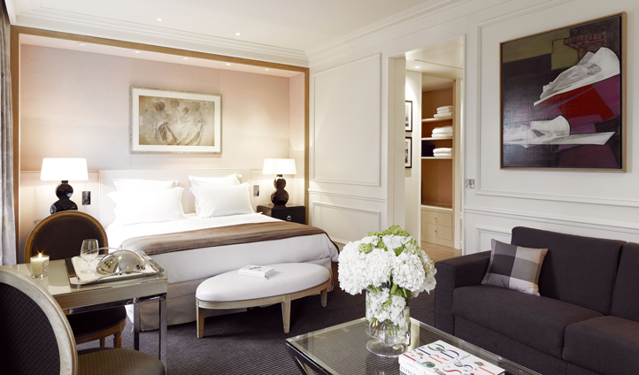 Settle into your room in Paris