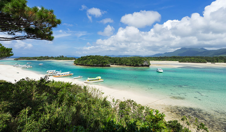 Kabira Bay, Okinawa, Japan