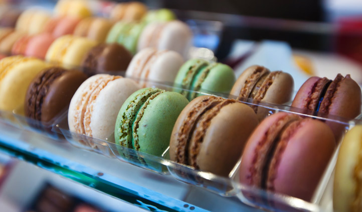 Indulge in melt-in-the-mouth Parisian macaroons