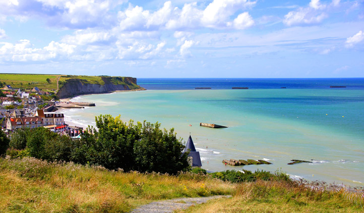 Breathe in Normandy's fresh sea air