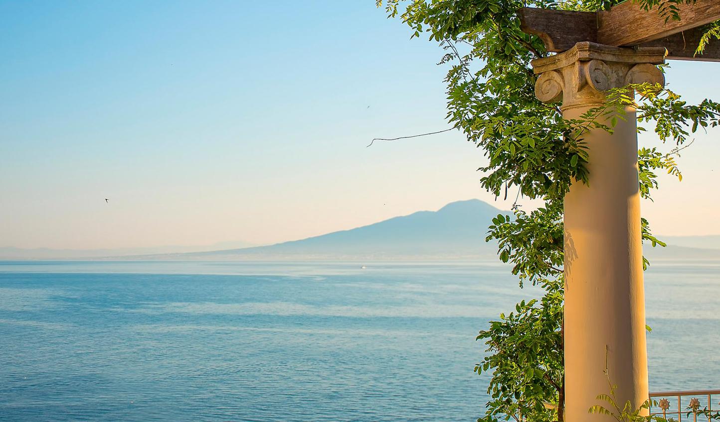 Endless sea views