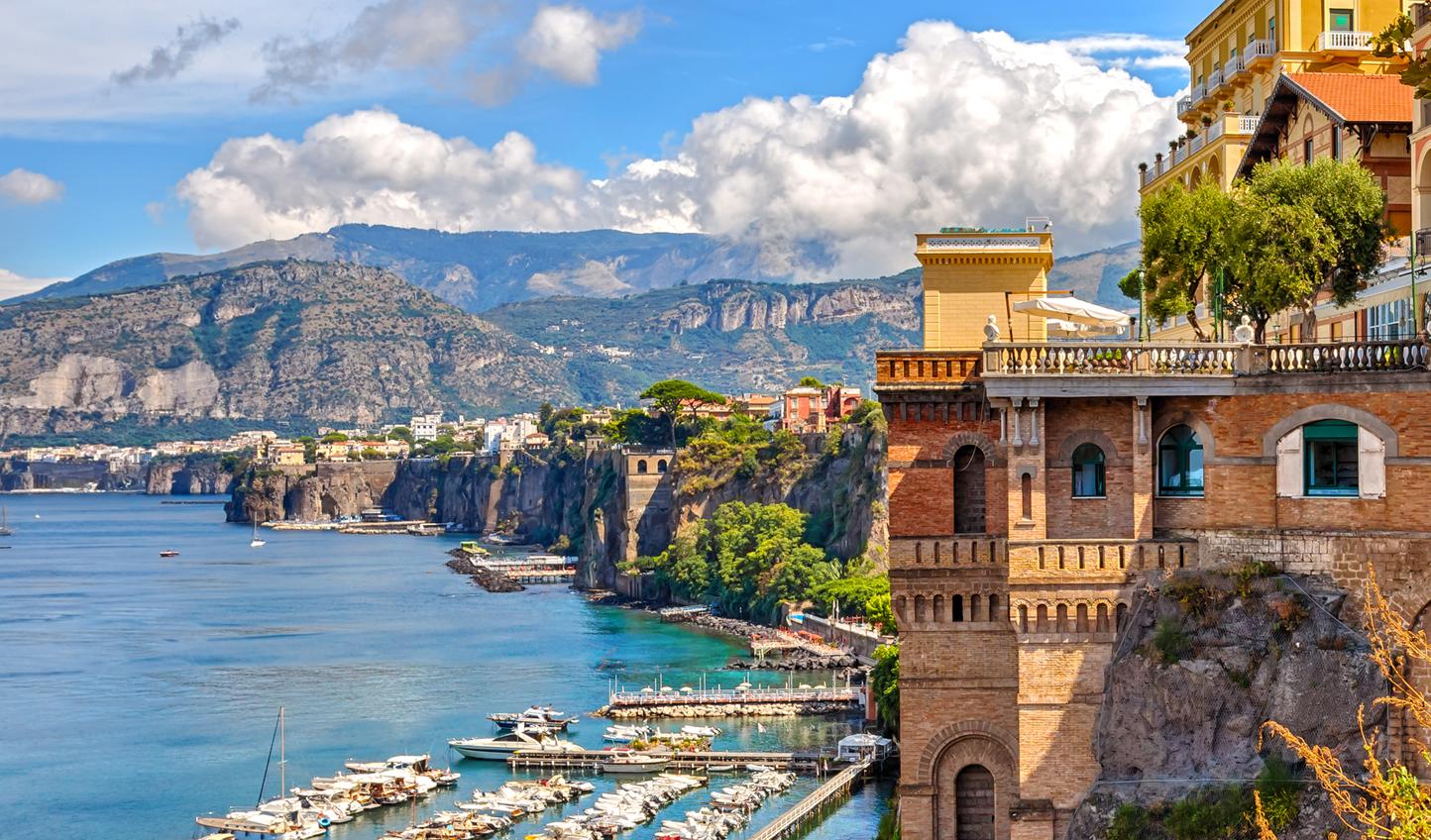 Soak up the sunshine in Sorrento