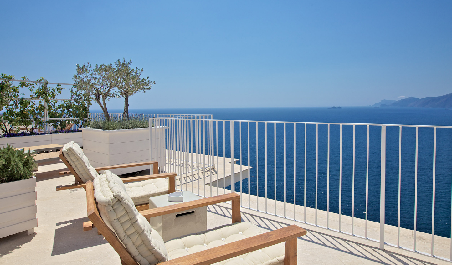 Enjoy some of the best views of the Amalfi Coast from Casa Angelina
