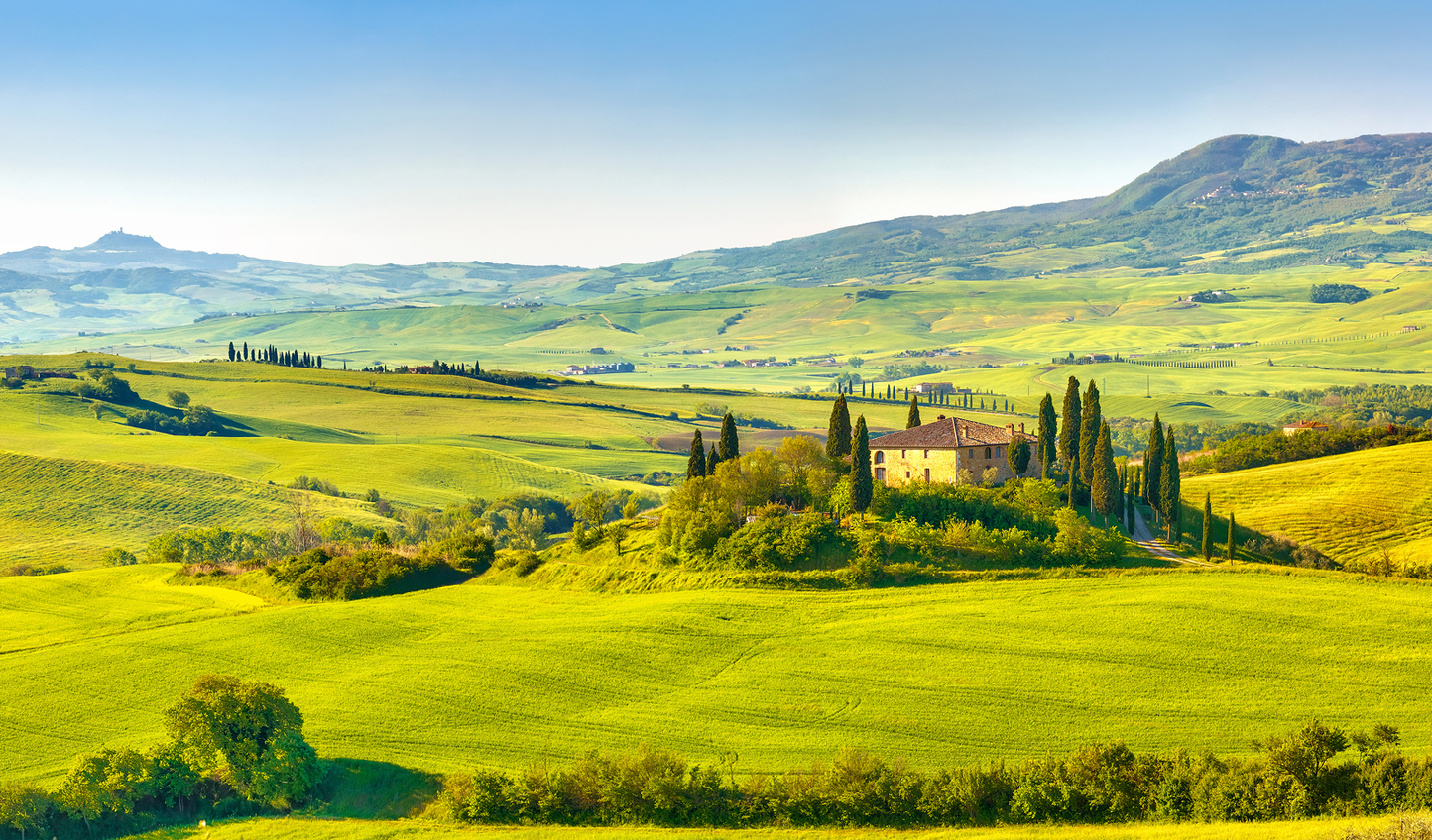Peace and tranquility in Tuscany
