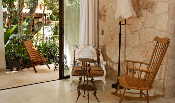 Chose one of the courtyard rooms and walk out of bed and into the heart of La Samilla