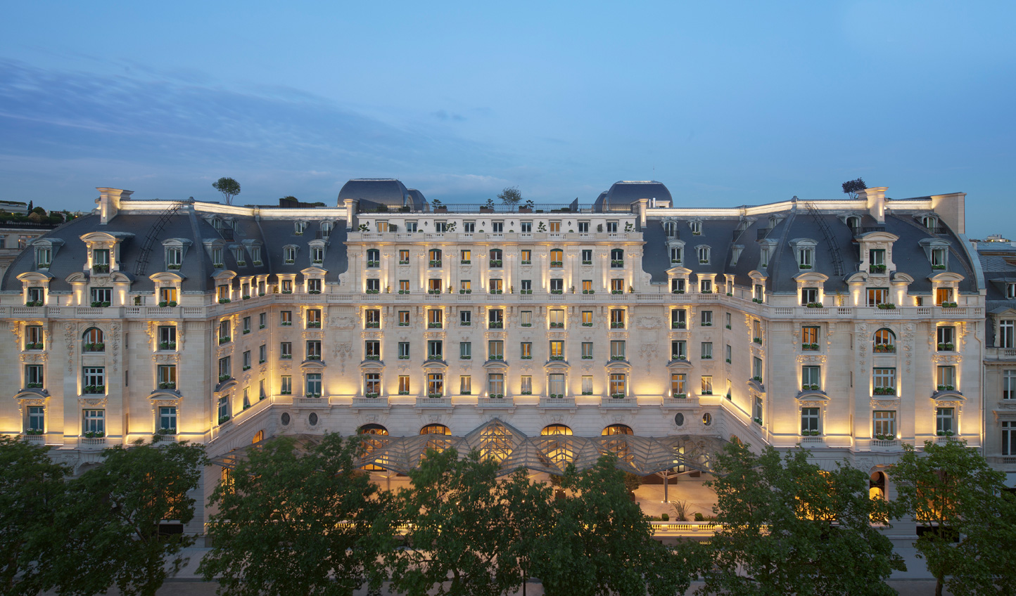 The grand Peninsula Paris