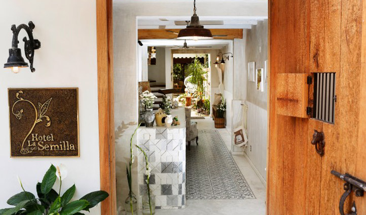 Step in to a tranquil haven in the tropical heat