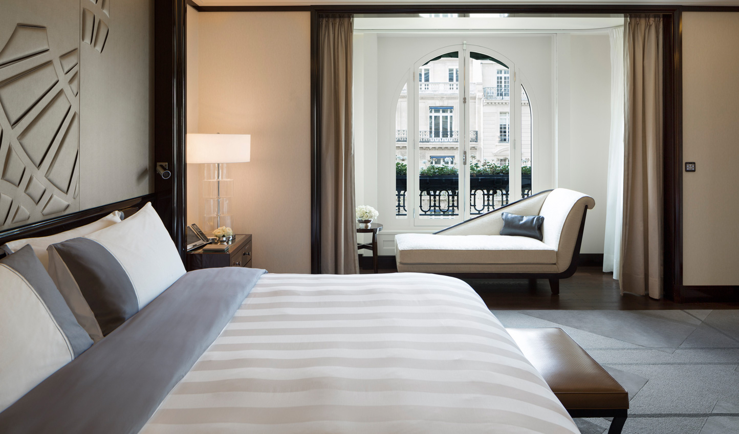 Stylish suites in the world's most stylish city