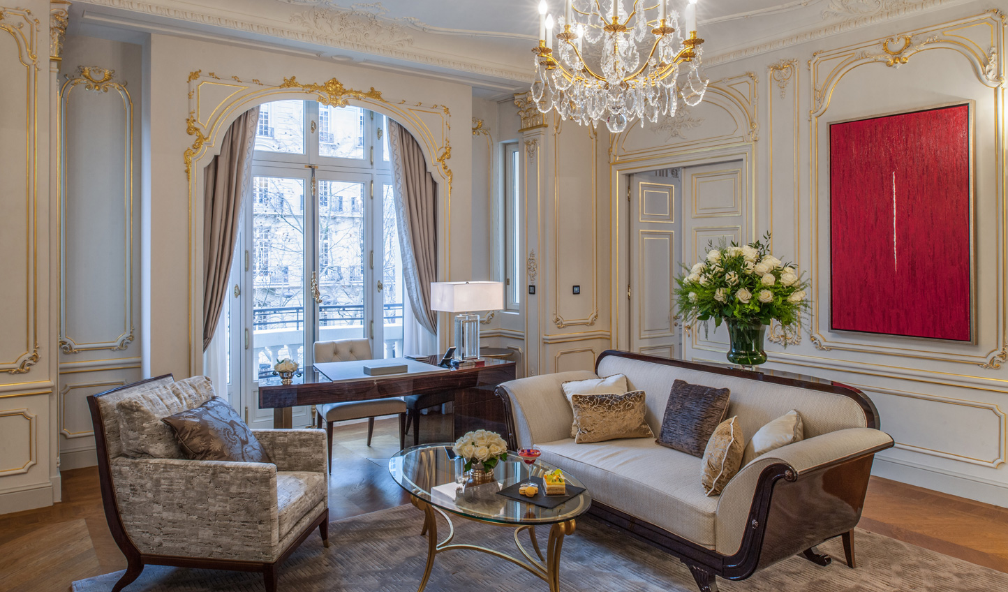 Stay in the Historic Suite for added opulence
