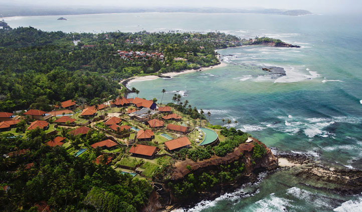 Spend three days at the clifftop paradise of Cape Weligama