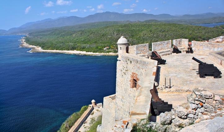 Castle San Pedro de la Roca