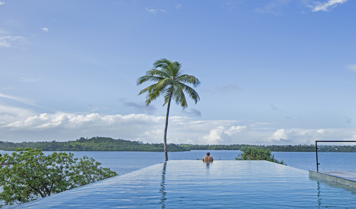 Day dream from the Infinity pool
