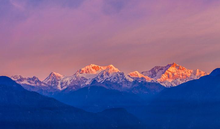Kangchenjunga, Sikkim Mountains, India