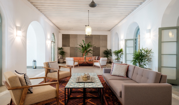 Stylish living areas abound at Fort Bazaar