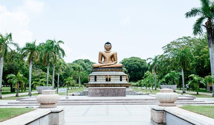Discover intricate Sri Lankan statues