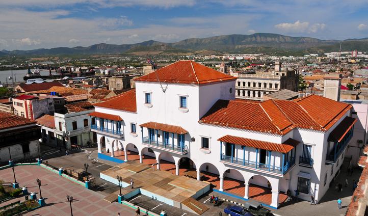 Views in Santiago de Cuba