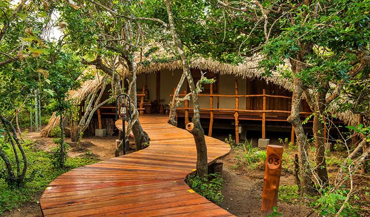 Luxuriously designed Chena Hut