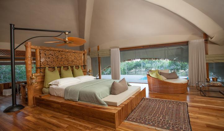 One of 14 elegantly designed cabins