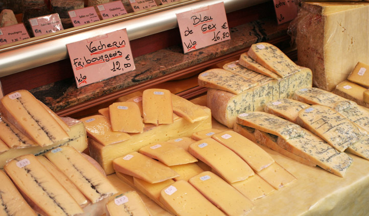 Cheese in Paris, France