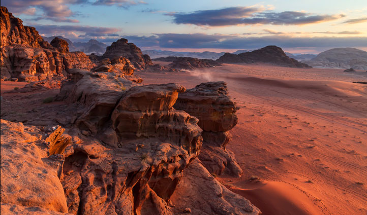 Wadi Rum's screen-stealing vistas