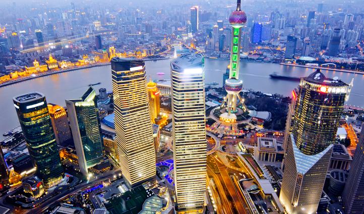 Shanghai's cityscape