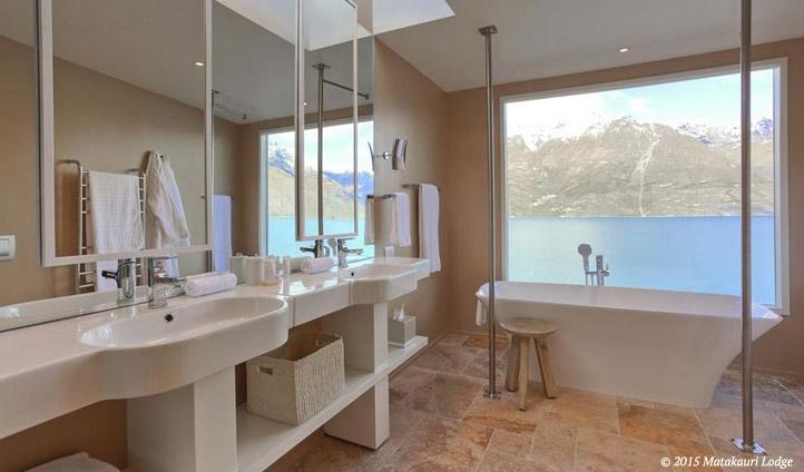 Your deluxe suite bathroom