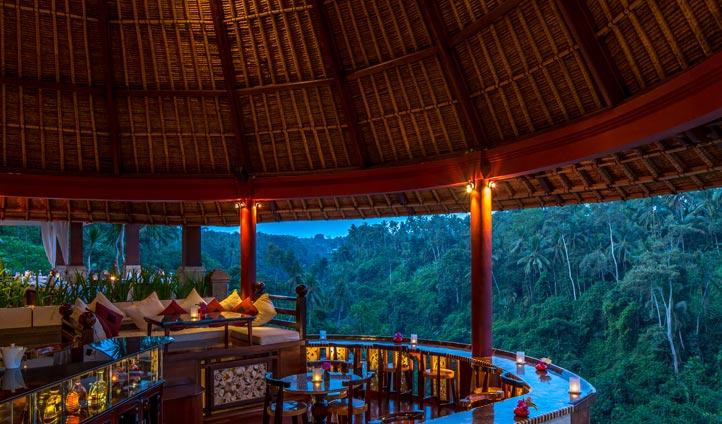 Cascades bar, The Viceroy, Bali