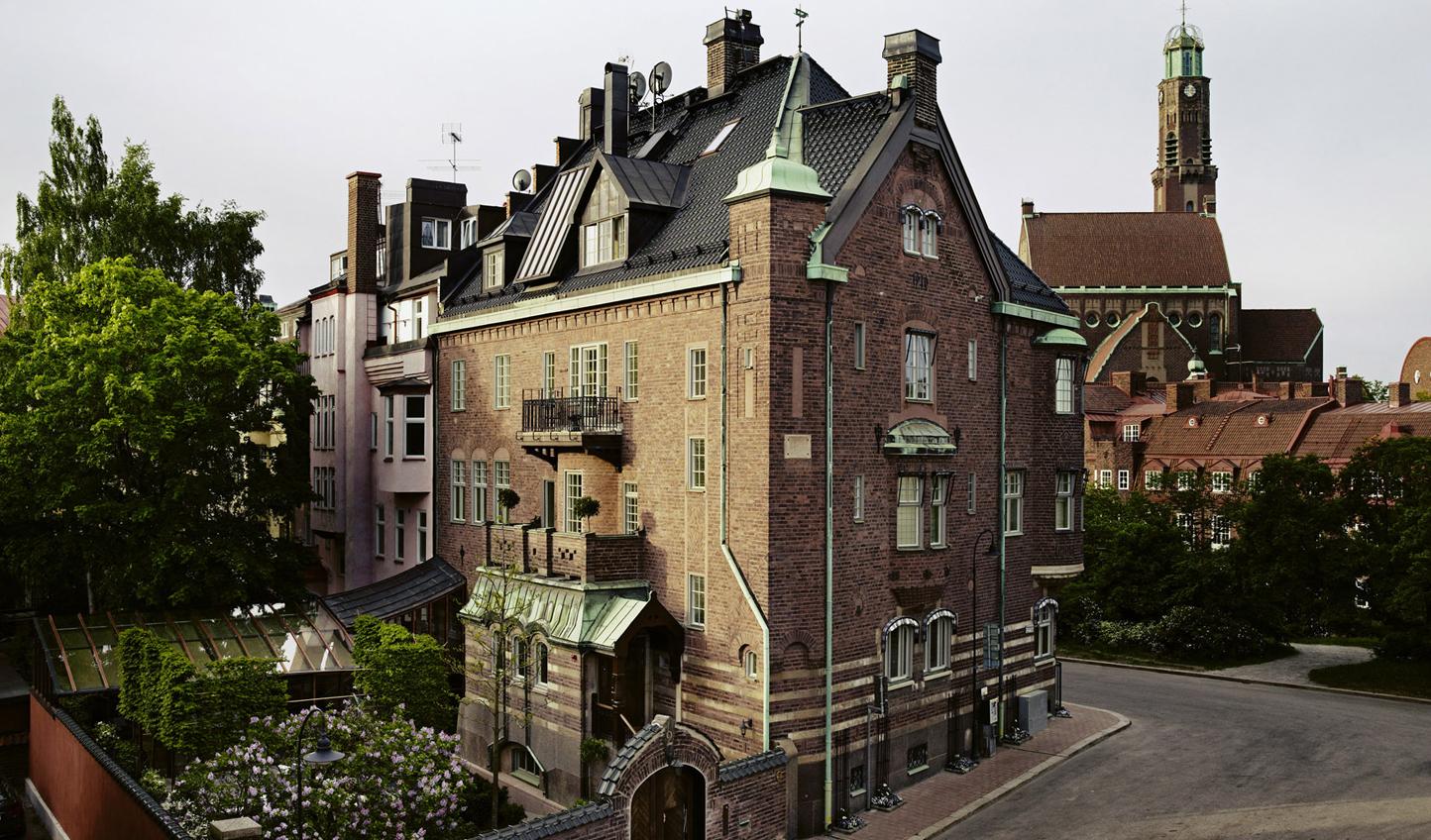 Ett Hem - the townhouse dates back to 1910.