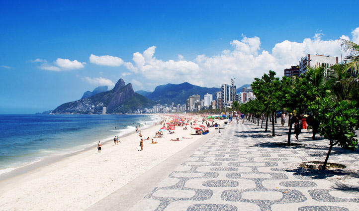 Rio has some of the world's most iconic beaches