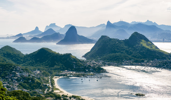 Rio's urban jungle blends with its natural ones
