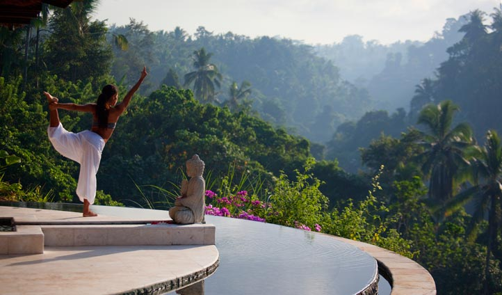 Yoga at The Viceroy, Bali