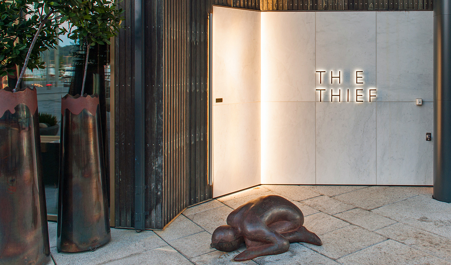 Step into The Thief and discover a home to modern art and beautiful spaces