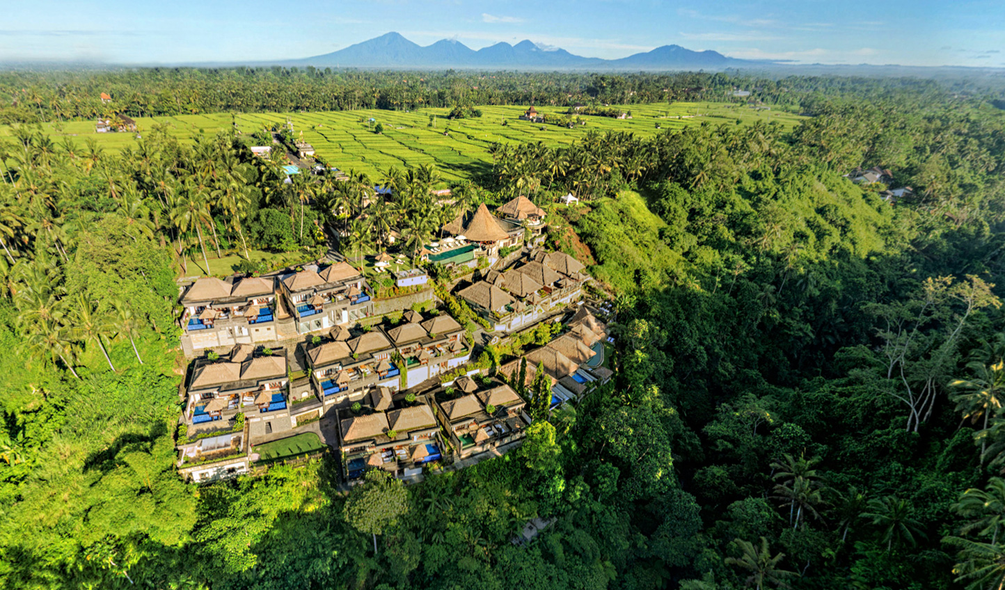 Hideaway in the lush Ubud hillsides