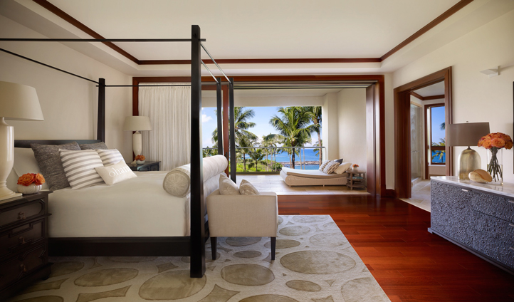 Your Ocean View room is beautifully designed