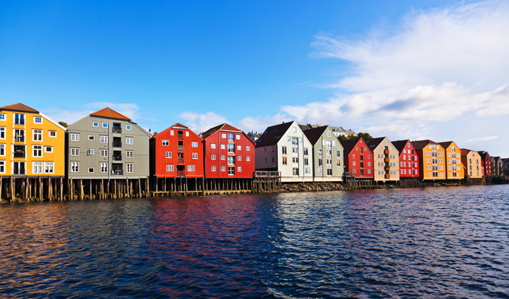 Explore the quaint Bergen houses