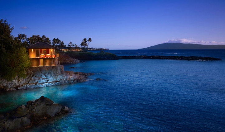 Cliff House is an intimate and exclusive setting