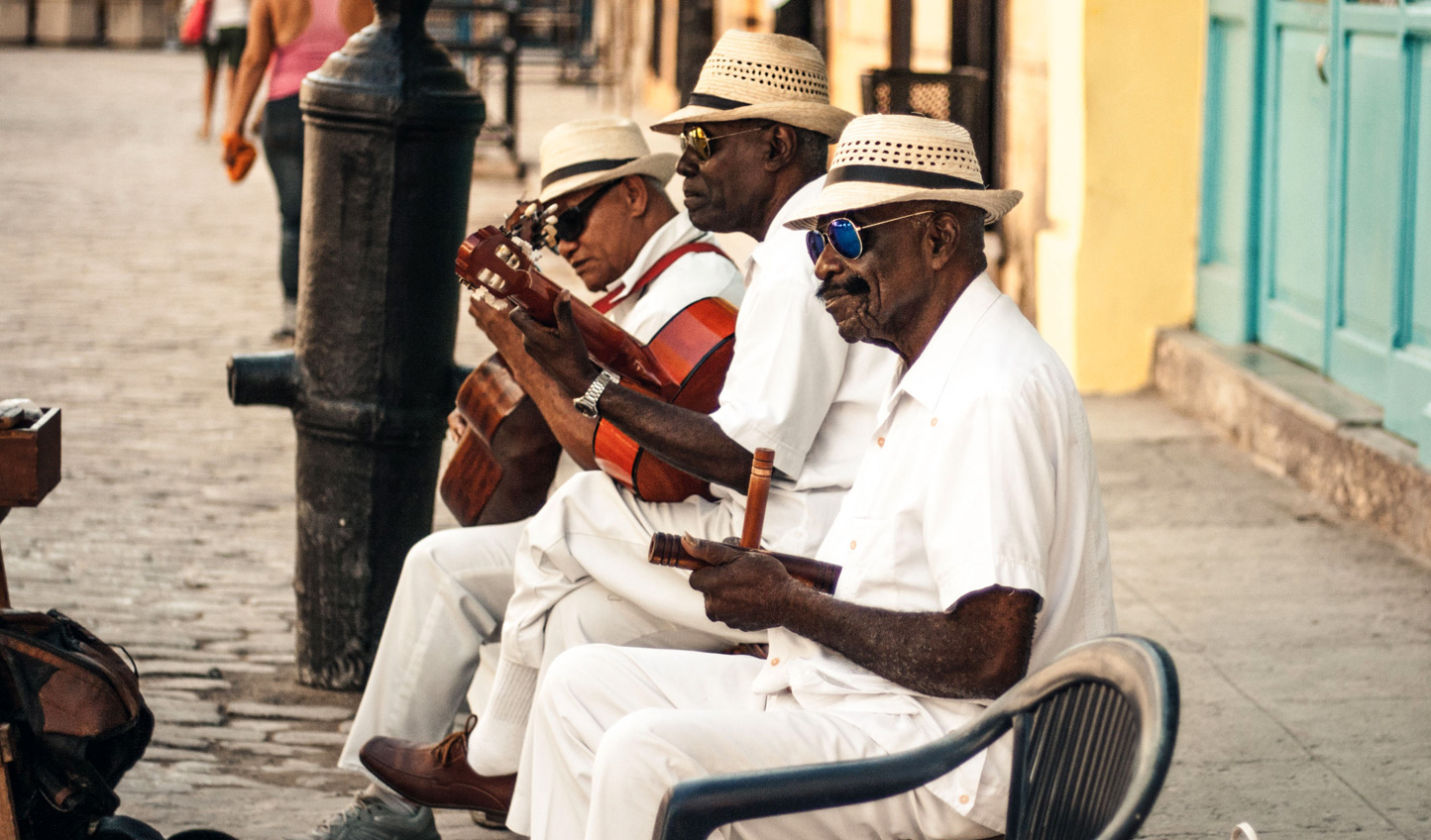 Listen to the rhythms of Cuba's streets