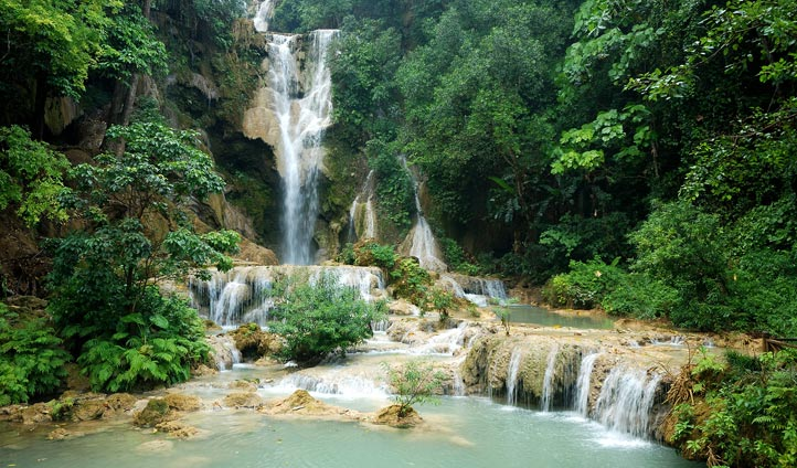 Kuang Si Waterfall, Laos | Black Tomato