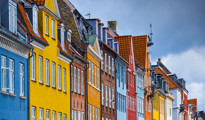 Nyhavn views in Copenhagen