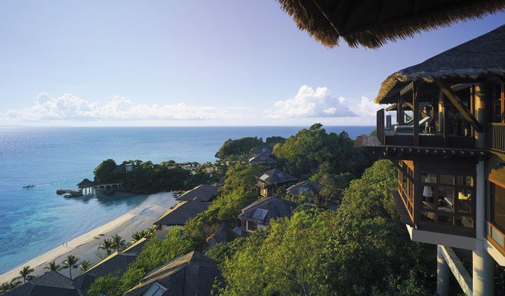 The Treehouse Villa boasts panoramic views