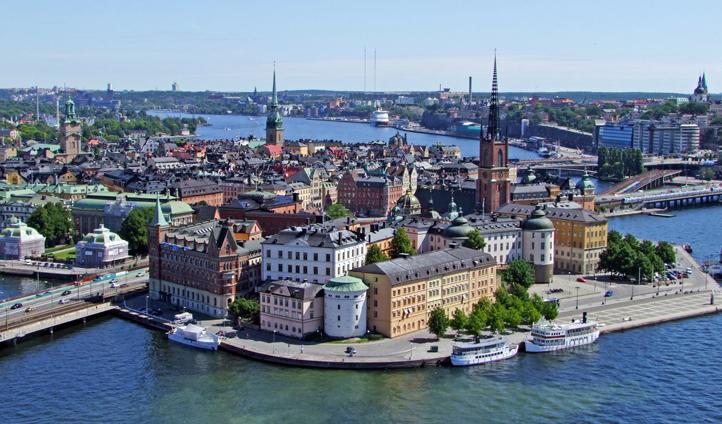 Explore Riddarholmen, Stockholm