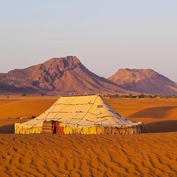 Desert camp in Morocco | Black Tomato