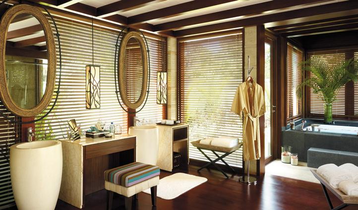 Your opulent Villa Bathroom to freshen up in